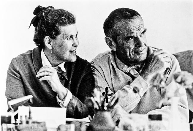 Photograph of Charles and Ray Eames