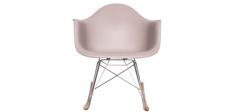 charles ray eames style rar rocking chair light grey boss