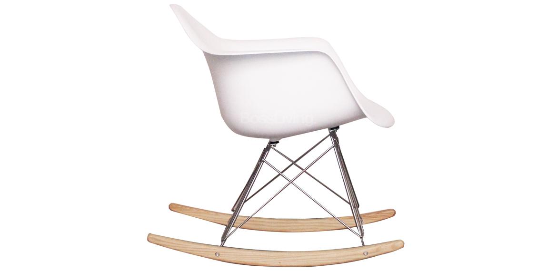 ray eames style rar rocking chair white the iconic eames rar rocking ...