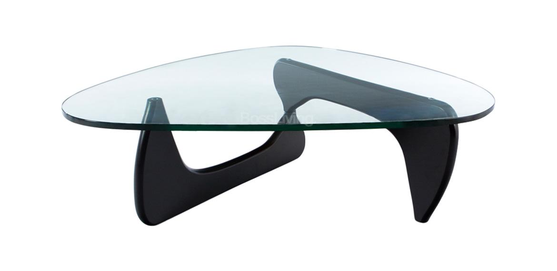 Isamu Noguchi Inspired Coffee Table Black Base Boss LivingBoss - Noguchi inspired coffee table