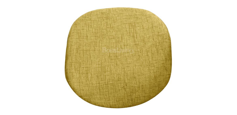 Tulip Style Cushion For Sidechair Eero Saarinen Inspired Woven Olive