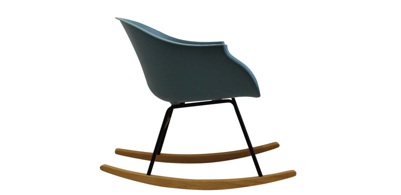 Charles Ray Eames Inspired N Rar Black Arm Chair Teal